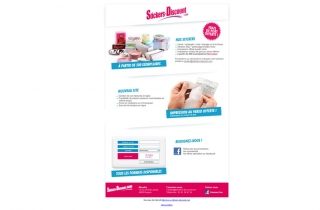 Campagne emailing stickers discount